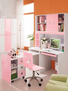 Furniture And Accessories Beauty Colorful Kid Corner Desk In for Kids Room Desk