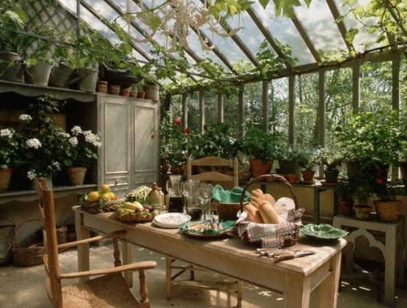 Rustic Style Conservatory
